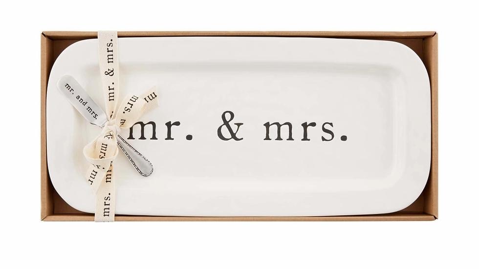 Mud Pie Mr. & Mrs. Hostess Set