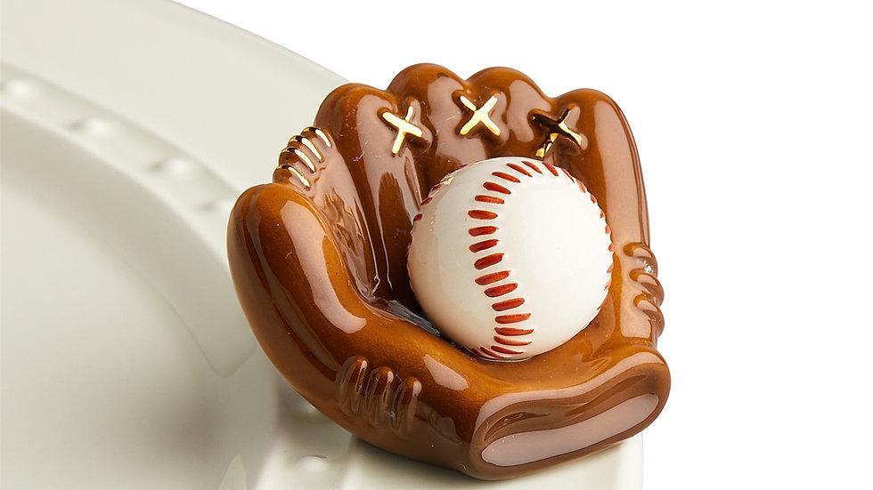 Nora Fleming Baseball Mini