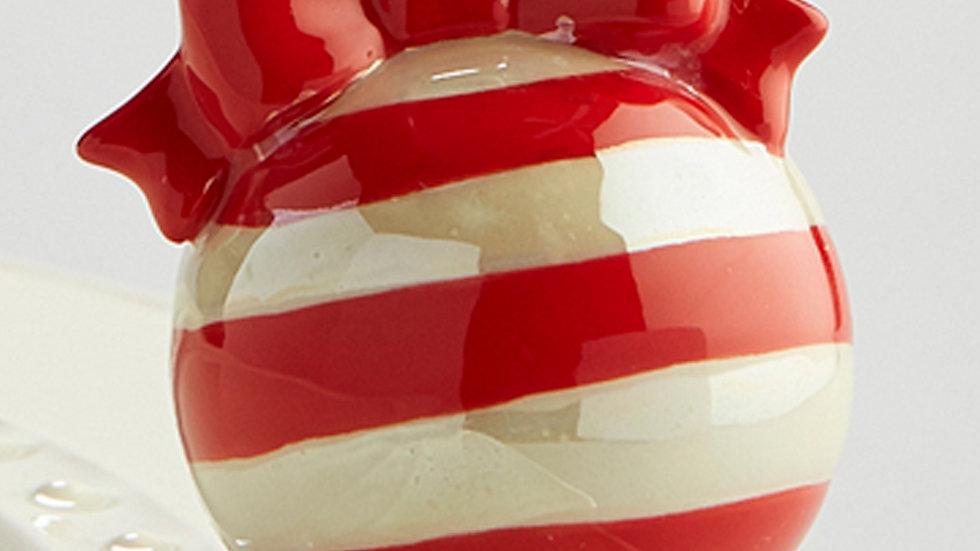 Nora Fleming Red Ornament Mini