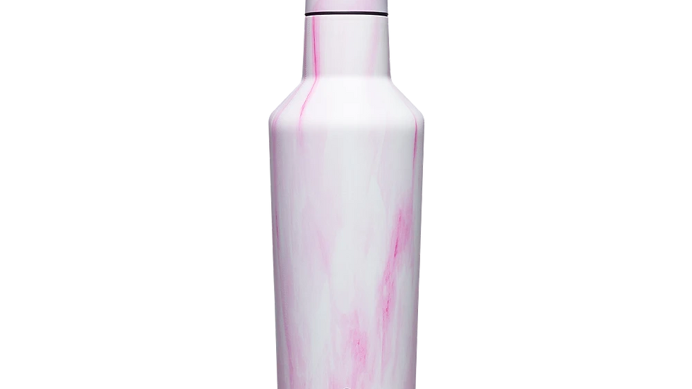 Corkcicle 25oz Pink Marble Canteen