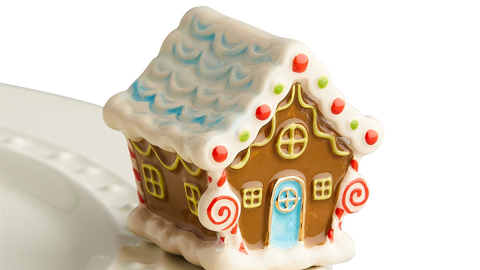 Nora Fleming Gingerbread House