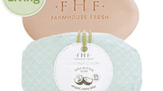 Farmhouse Fresh Coconut Cream Shea Butter Bar Soap 5.25