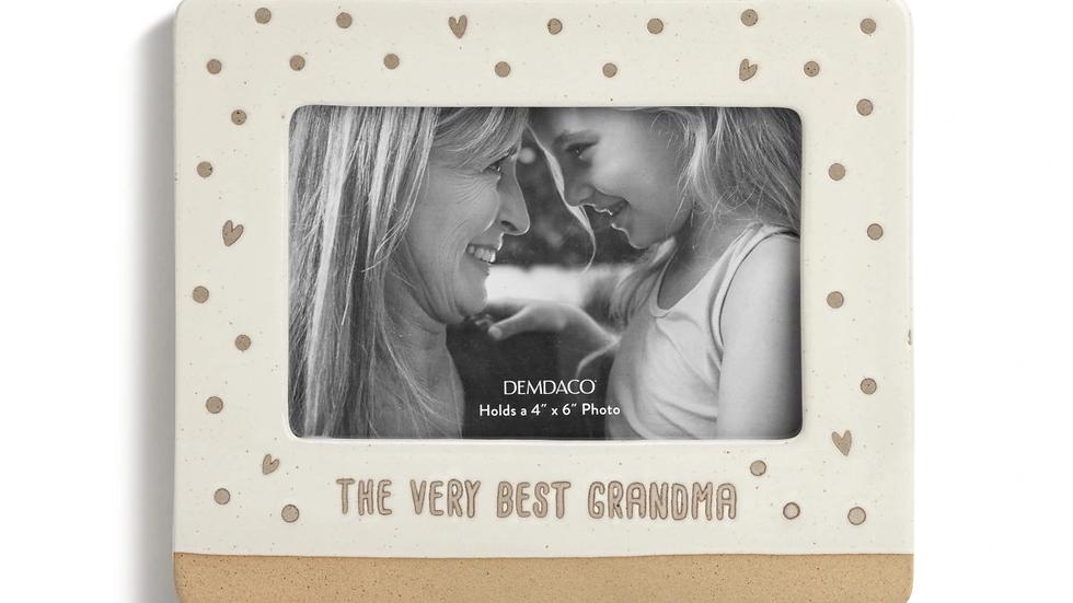 The Very Best Grandma Frame