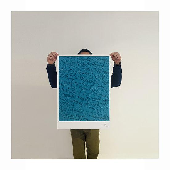 "EGO CAMO PATTERN ""Blue Edition"""