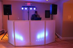 Facade for the DJ booth