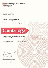 Examenes Cambridge Tarragona - First Certificate B2 - PET B1 Inglés