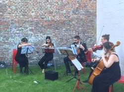 Un concert au jardin