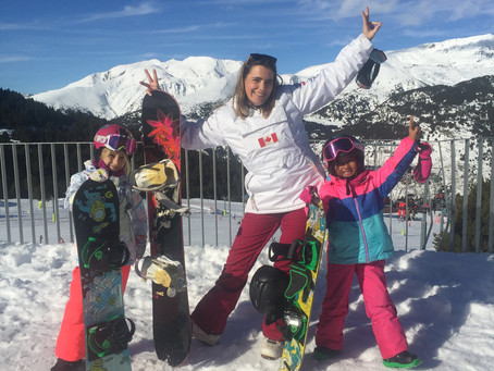 Snowboarding again in Andorra - New Years Eve 2019 - 2020