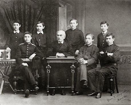 Zverev and pupils.jpg