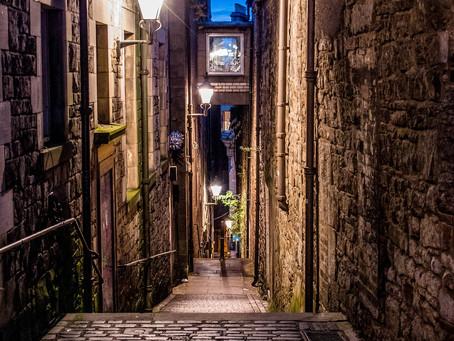 Top3 des ruelles les plus hantées d'Edimbourg