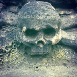 Squelette et Tete de Mort