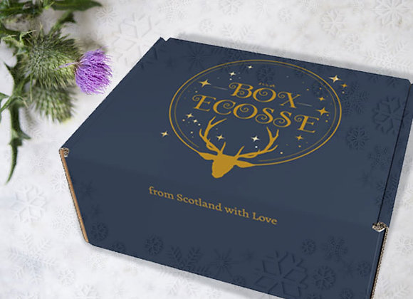 ma BOX Ecosse #2 TARTANS de Noël