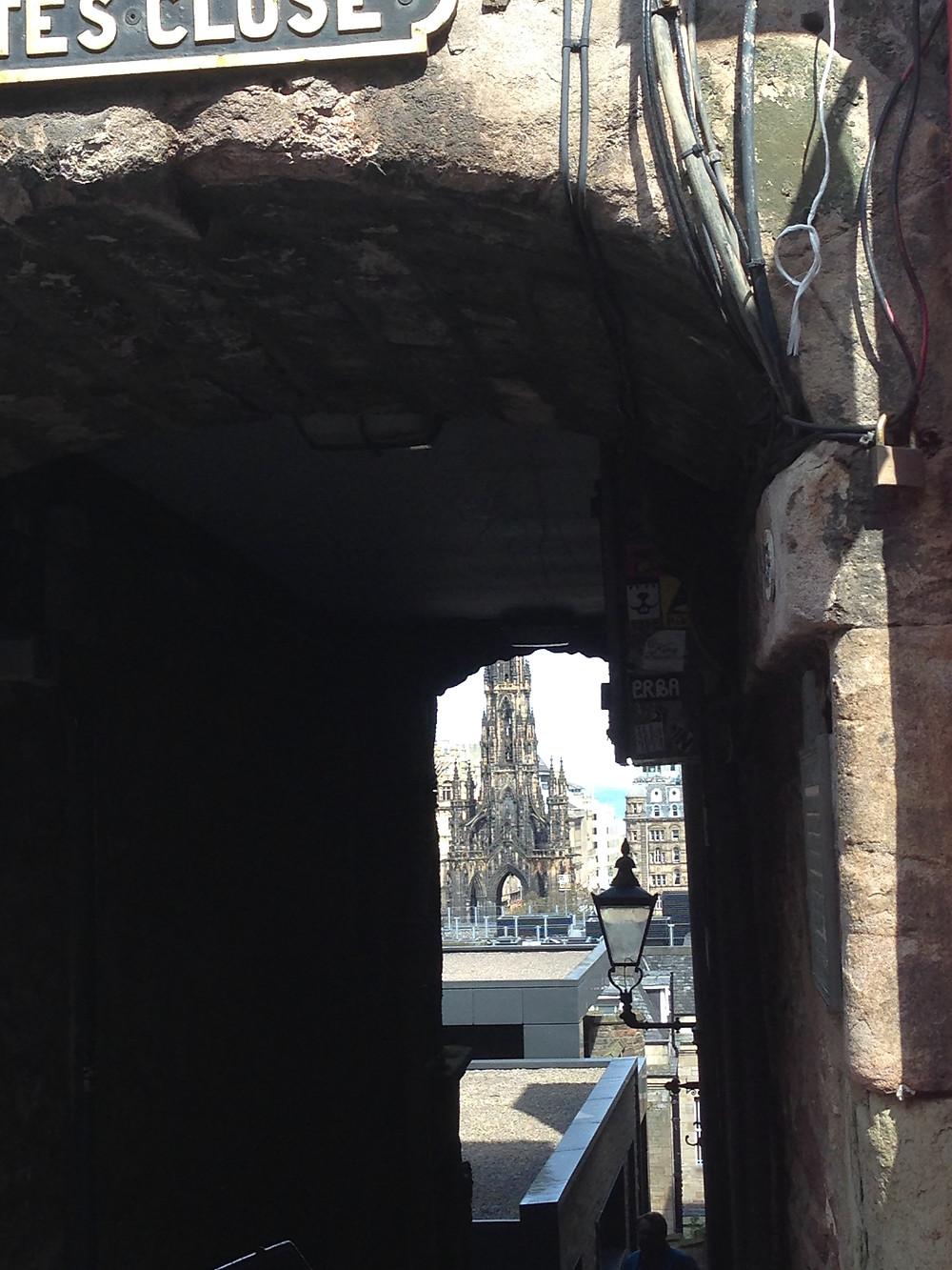Advocate's Close, un des lieux réputé hanté d'Edimbourg