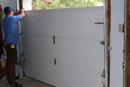 Can I Replace My Garage Door Panel