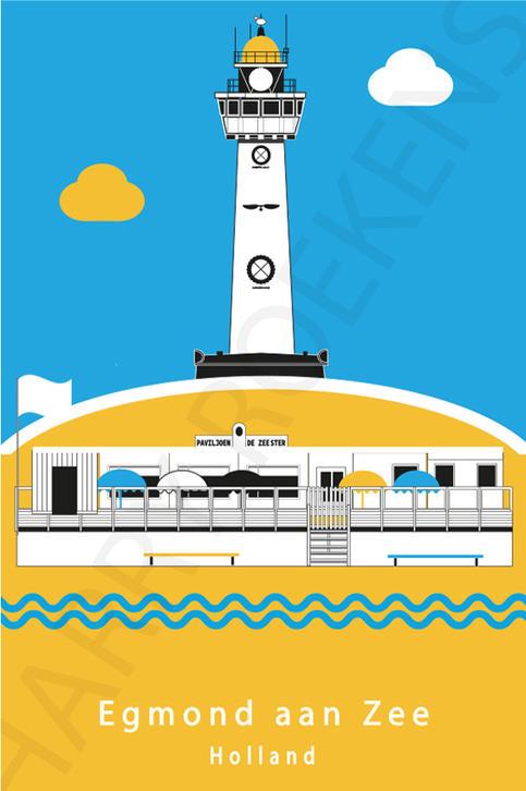 Egmond aan Zee strandposter BB B.jpg