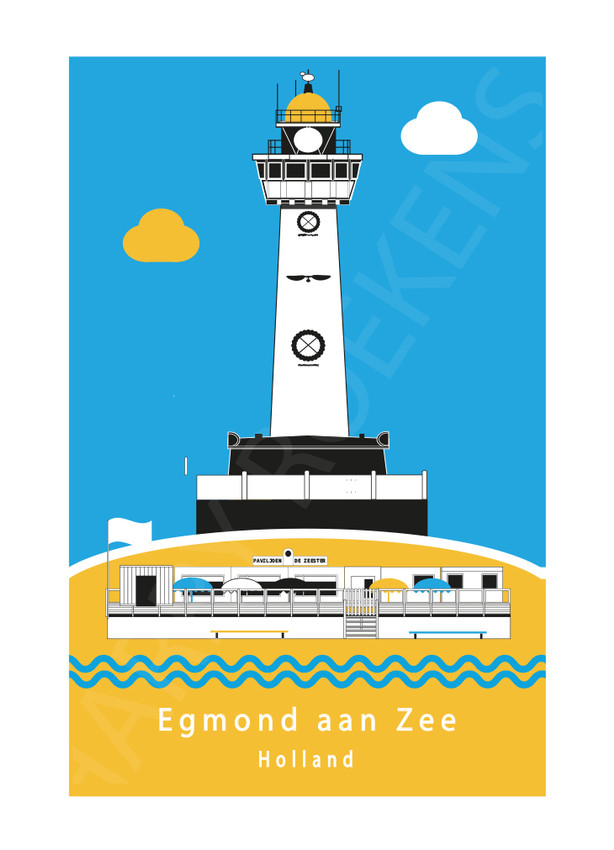 Egmond aan Zee strandposter BB.jpg