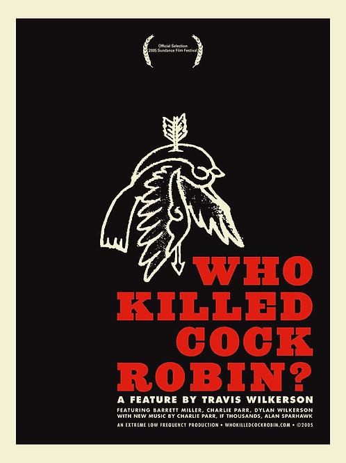 ULTRA RARE ORIGINALPOSTER - WHO KILLED COCK ROBIN?