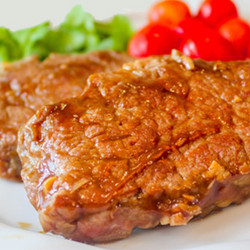 Black Pepper Beef Striploin!!