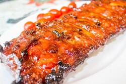 Caveman BBQ Honey Pork Ribs