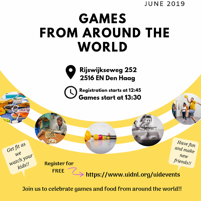 Games from Around the World 2019 edition