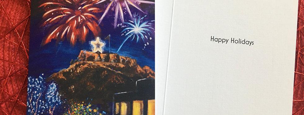 Starlighting Greeting Card