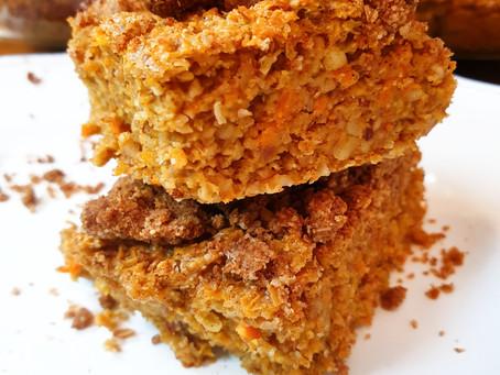 Karotten Kuchen mit Zimtstreusel