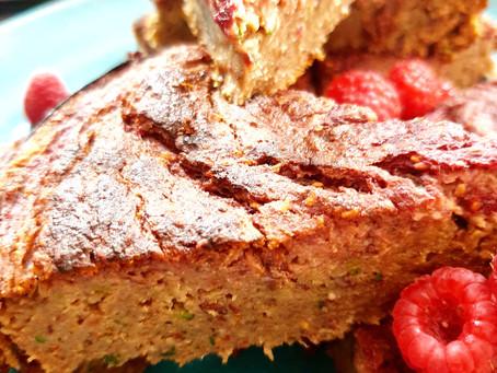 Himbeer Zucchini Kuchen