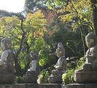 image of japanese buddhist statues