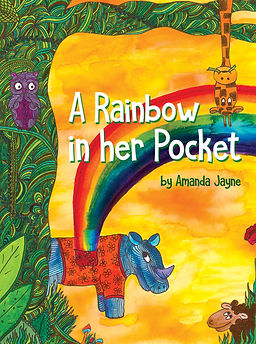 A Rainbow in her Pocket book cover