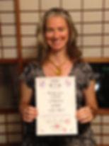 Amanda Jayne Daishihan Reiki Training