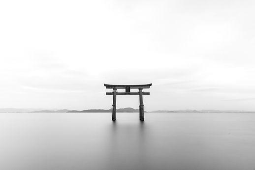 Tori gate in Japan