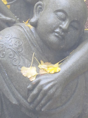 Japanese statue, Temple 66, Shikoku Pilgrimage