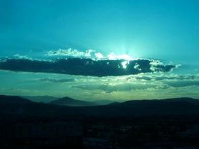 Turquoise sky, Bosnia