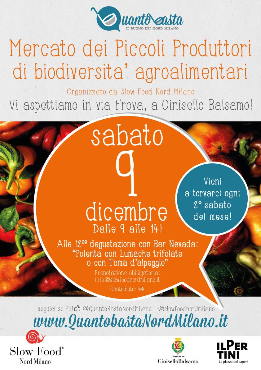 quantobasta nord milano mercato agroalimentare piccoli produttori slow food nord milano
