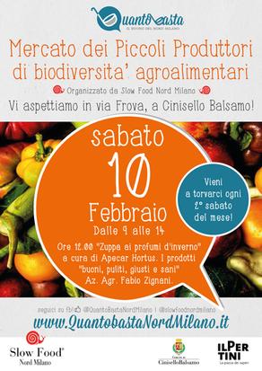 10 Febbraio: a Cinisello con i Piccoli Produttori