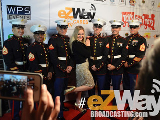 Jayme Claire Sings for U.S. Marines' Toy Drive