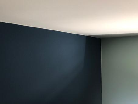 Plafond perfect aflijnen
