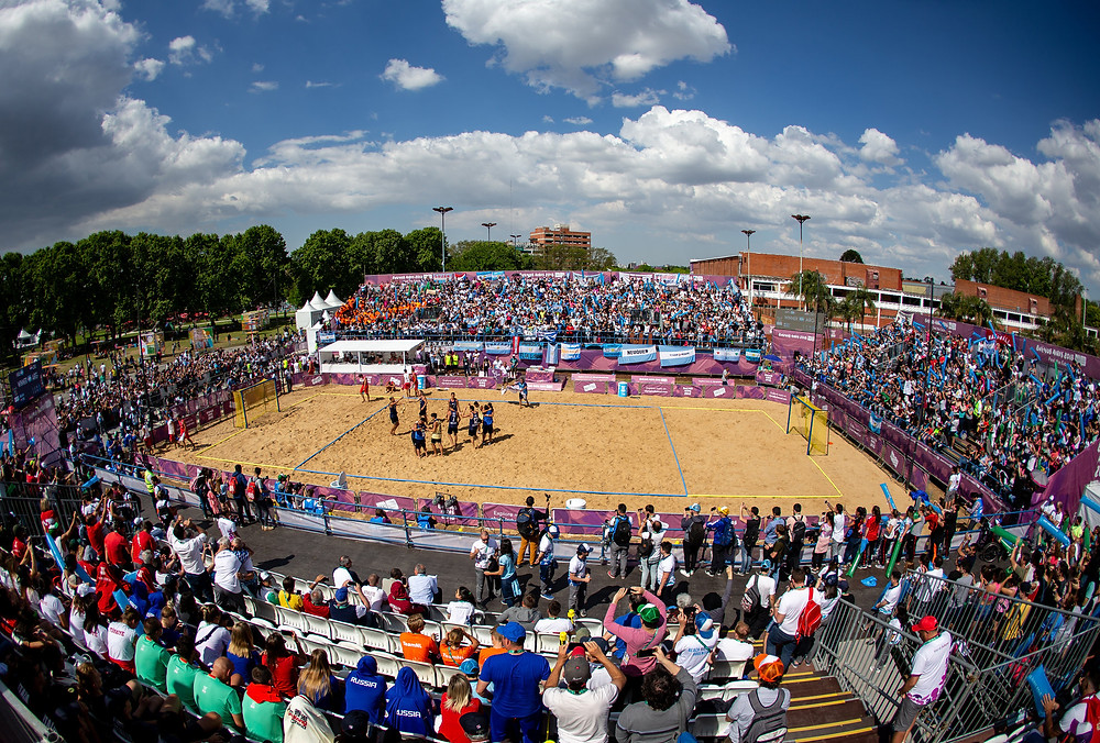 Parque Sarmiento - beach handball