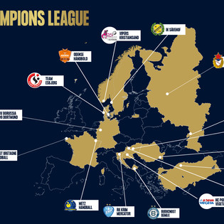 ¡Guía Playmaker para seguir la DELO EHF Champions League!