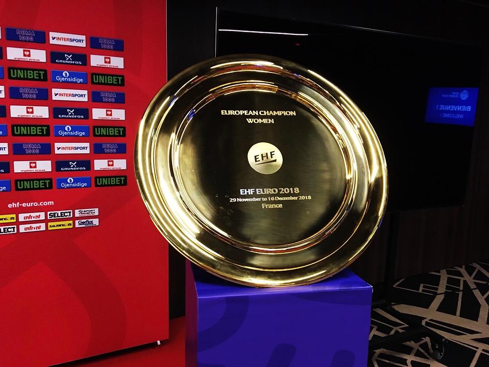 Trofeo del EHF EURO 2018 | Foto: Playmaker
