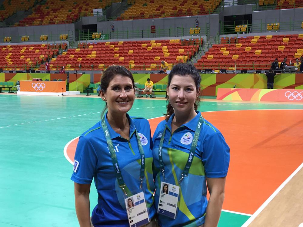 Kjersti Arntsen and Guro Røen at JJOO de Rio 2016