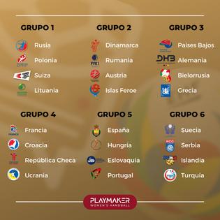 Con la mira en el EHF Euro 2022