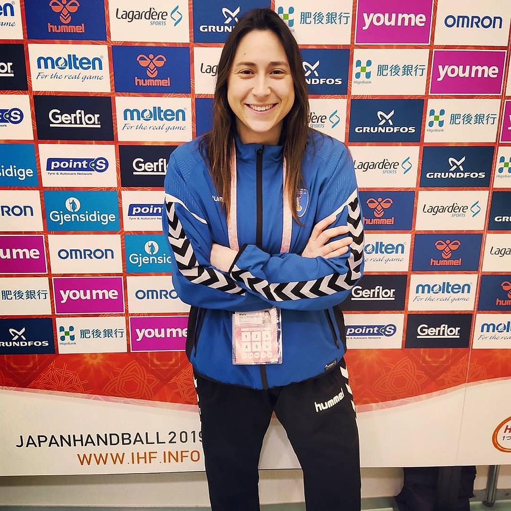 Maria 'Müller' en Japan Handball 2019