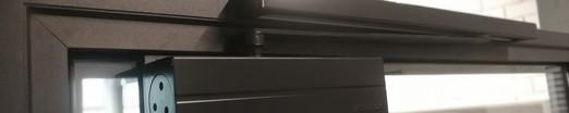 Дверная коробка для цельно-стеклянной дв