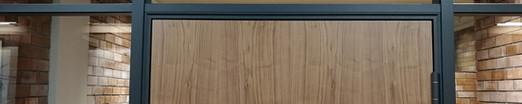 Торцевая 40 алюминиевая дверная коробка