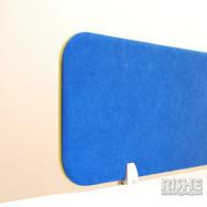 RISHE-M2 Настольные экраны  облицованные тканью и бескаркасные тканевые перегородки