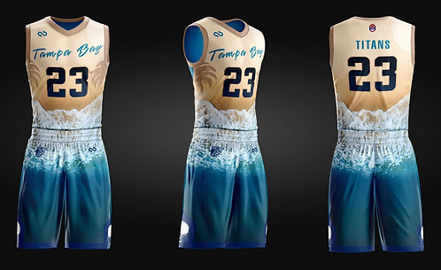Tampa Bay Titans Game Jersey
