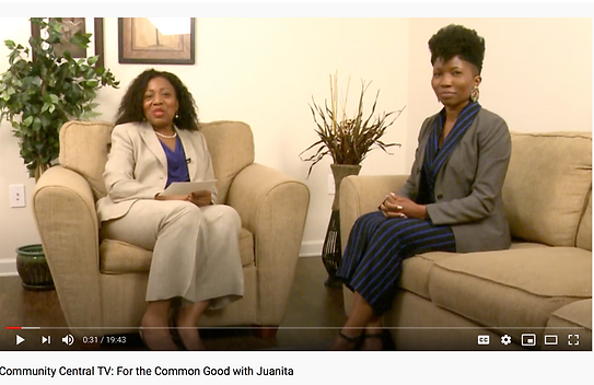 Dr. Monifa on the For the Common Good Sh