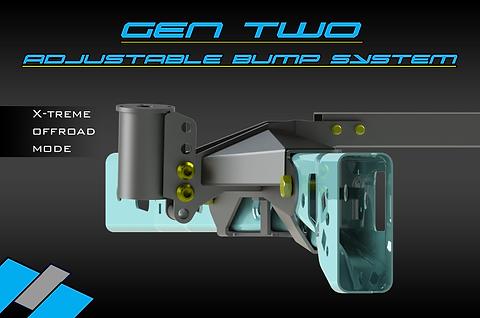 SVCOFFROAD Adjustable Bump System