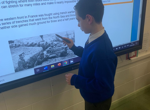 World War One Projects